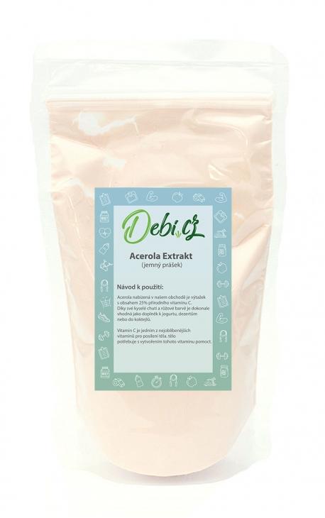 Acerola Extrakt - jemný prášek 100g