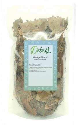 Ginkgo biloba - sušené listy