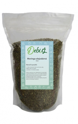 Moringa olejodárná - list