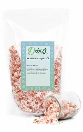 Himálajská sůl - růžová krystalová